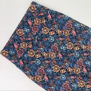 Lularoe Cassie Pencil Skirt Floral Size XS